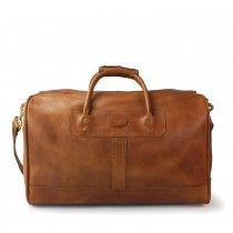 Duffle Bag- Small: Saddle Leather - $1,100