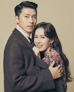 This pin shows Son Ye-jin and Hyun Bin embracing each other. Informations About Crash Landing On You Korean Actresses, Korean Actors, Actors & Actresses, Hyun Bin, Jin, Korean Couple Photoshoot, Kim Tae Hee, Jung Hyun, Weightlifting Fairy Kim Bok Joo