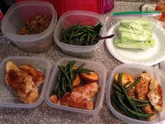 Meal prep done!! Baked Chicken  sweet potato green beans & ground turkey for my salads  #mealprepsunday #plan #eatcleantraindirty #getitdone #failtoplanplantofail #fitmom #fitspo #fitfam #foodie #gains #protein #cleaneats #whynot #whateverittakes by energetic_health