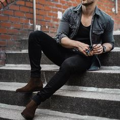 Mens Dress Outfits, Stylish Mens Outfits, Men Dress, Casual Outfits, Men Casual, Dress Shoes, Dress Casual, Casual Tops, Mens Fashion Suits