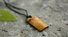 bamboo pendant - handmade jewelry, eco friendly, necklace, beads accessories, man and woman wearing, wood  suplies, mens gift by Oniroteo on Etsy https://www.etsy.com/listing/109565502/bamboo-pendant-handmade-jewelry-eco