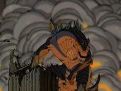 "Godzilla Animated Series Cartoon Intro.     Loved this show! Finally they gave ""Zilla"" atomic breath."