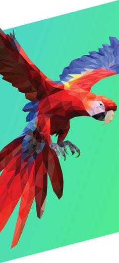 Polygonal studies, low poly pieces that I've made for multiple purposes.In this serie I've tried to apply the low poly style at many different kind of motives, from the less complex as this first bird to the very complexity as portraits.