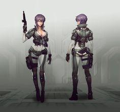 Cyberpunk Girl, Cyberpunk Character, Cyberpunk 2077, Female Character Design, Character Concept, Character Art, Concept Art, Manga Anime, Anime Art