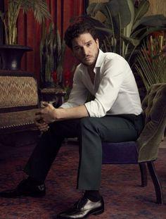 Kit Harington for Esquire Pretty Men, Beautiful Men, Alan Bates, Game Of Throne Actors, Kristin Scott Thomas, John Snow, Kit Harrington, Hottest Male Celebrities, Celebs