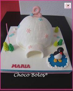 Ice globe home and Pingú :) Birthday Cakes, Birthday Ideas, Birthday Parties, Arctic Penguins, Penguin Cakes, Cake Decorating, Decorating Ideas, Globe, Birthdays