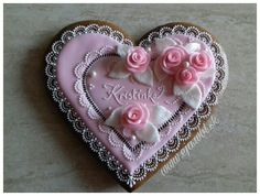 Check out what I made with Stone Heart, Cookie Decorating, Gingerbread, Icing, Brooch, Decorated Cookies, Picsart, Floral, Flowers
