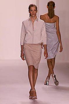 Calvin Klein Collection Spring 2001 Ready-to-Wear Fashion Show - Roos van Bosstraeten, Calvin Klein