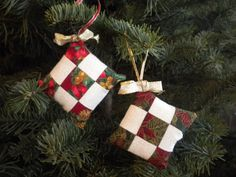 Sewing Pattern: 9-Patch Christmas Ornament