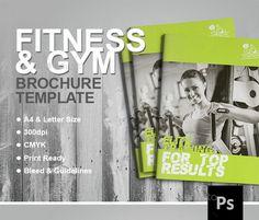 BestSellingFitnessBrochureTemplate   Fitness Brochure
