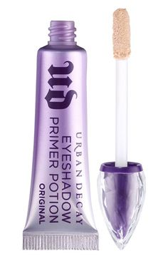 Free shipping and returns on Urban Decay Original Eyeshadow Primer Potion at Nordstrom.com. Keep your eyeshadow vibrant and crease-free for 24 hours with Urban Decay's legendary Eyeshadow Primer Potion in a brand-new formulation. The nude primer features a gorgeously revamped look and an applicator for even more versatility. Despite a new formulation, it still packs the powers it's famous for—24-hour crease-free wear, vibrant color and smooth application. Space-age polymer technology fills…