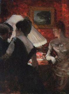 Around the Shade, 1880 - Giuseppe de Nittis