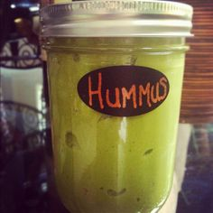 Homemade spinach and artichoke oil free hummus!