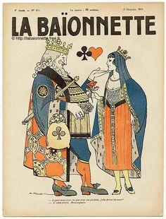 La Baïonnette n°234 du 25 Décembre 1919