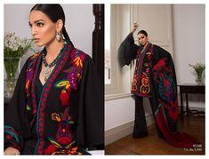 fea414f2d1 Buy Online Sana Safinaz Winter Shawl Collection 2018-19 | AN Fabrics Latest Pakistani  Dresses