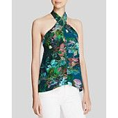 Twelfth Street by Cynthia Vincent Top - Halter Tropical
