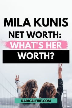 Mila Kunis net worth – listed at $11M by Forbes in 2013. Aside from That '70s Show, she was also cast for other iconic roles. How much is she worth in 2021? Find out here how much she earns this year and how she did it! Budgeting Finances, Budgeting Tips, Wealth Management, Money Management, Financial Planning For Couples, Dividend Investing, Creating Wealth, Finance Organization, Financial Peace