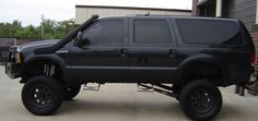 Lets see all of your lifted Excursions - Ford Truck Enthusiasts Forums Lifted Excursion, Ford Excursion Diesel, New Trucks, Lifted Trucks, Cool Trucks, Ford Off Road, Big Ride, Ford 4x4, Suv Cars