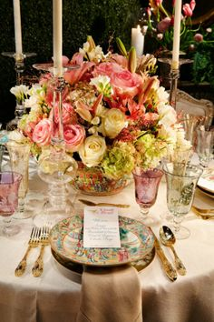 Scott Snyder  #tabletop #entertaining #flowers