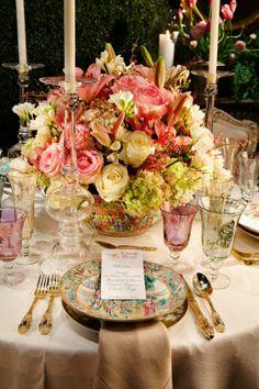 Gorgeous tablescape - Scott Snyder