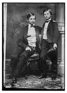 """Princes Ludwig and Otto of Bavaria  Ludwig died in 1886 under mysterious circumstances. Otto [ en.wikipedia.org/wiki/Otto_of_Bavaria ] succeeded him but was incapacitated by """"severe mental illness"""" and a regent ruled in his stead. He died in November 1913."""