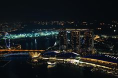 My favourite time in Singapore is when the sun sets & the city lights start to twinkle  #Singapore by nicoleeddy