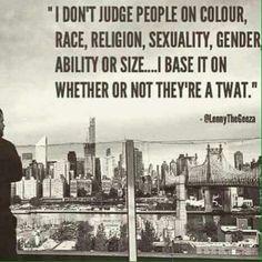 I don't judge...