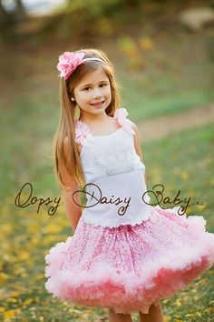 Oopsy Daisy Baby Pink Sequin Pettiskirt