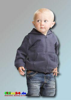 Babybugz Baby Supersoft Zip Through Hoodie in vier Farben Kapuzenjacke