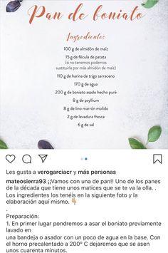 Pan boniato I Mateo Sierra Sierra, Sin Gluten, Glutenfree, Gluten Free