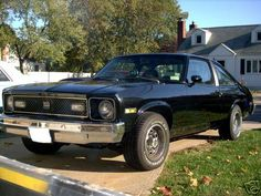 1977 Chevrolet Nova Pictures: See 82 pics for 1977 Chevrolet Nova. Browse interior and exterior photos for 1977 Chevrolet Nova. Nova Car, Chevy Nova, Old Muscle Cars, General Motors, Fast Cars, Hot Wheels, Cool Cars, Chevrolet, Classic Cars