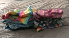 #yarnmadness day 3: recently finished  I just finished folding a bunch of recently washed hand knit socks