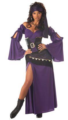 sexy diy gypsy costumes | Mystic Seductress Gypsy Costume - Gypsy Costumes