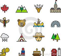 Icônes et symboles de Canada