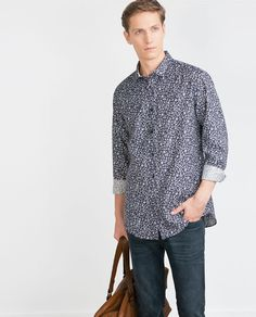 Image 4 of FLORAL PRINTED SHIRT from Zara