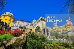 #PenaNationalPalace in #Sintra,#Portugal. Palácio Nacional da Pena. #GettyImages #stock #photography
