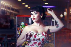 """Marilia Skraba para o Project Pinup """"Meet Me At The Diner"""""""