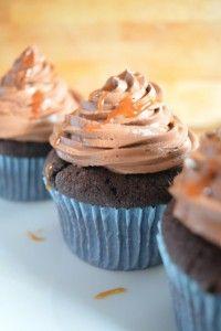 Chocolate Caramel Cupcakes – Michellicious