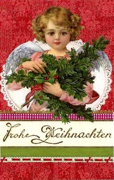 Christmas Post Сards ( Germany) — Christmas Angel   (506x800)