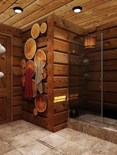 Easy And Cheap DIY Sauna Design You Can Try At Home sauna mit dusche Easy And Cheap DIY Sauna Design You Can Try At Home mit dusche rustikal Diy Sauna, Sauna House, Sauna Room, Deco Spa, Log Home Bathrooms, Sauna Design, Outdoor Sauna, Log Home Decorating, Spa Rooms