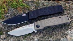 Торговая марка SOG Specialty Knives & Tools представила на этот год ещё одну серию складных карманных ножей для повседневного использования - SOG Terminus.