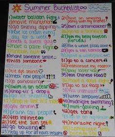 Crazy Teenage Bucket List Ideas - Bing Images