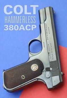 Colt Hammerless .380
