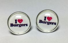 I Love Donuts Funny Quotes Earrings Funny Gifts Food Earrings #funnyfood #funny #lol #hilarious #humor #gift #earrings #studs #jewelry #foodlover #chef #mcdonalds #burgerking #redrobin #hamburger #bbq #cook #funnygift #gaggift #jokegift #birthday #bestfriend #bff