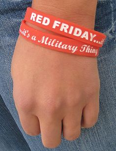 ...I proudly wear my red every Friday... <3