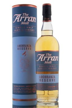 The Arran Malt - Lochranza Reserve single malt Scotch whisky from the distillery on the Isle of Arran. A citrus-y, light and elegant no-age statement single malt.