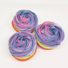 Rosette Cupcakes, Rosettes, Purple, Pink, Pretty, Desserts, Instagram, Postres, Deserts