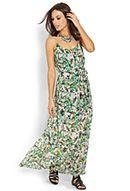Lush Botanical Maxi Dress. Forever21