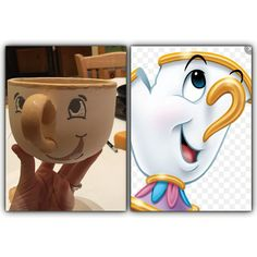 Color me mine pottery painting ideas. Chip from Beauty and the beast.