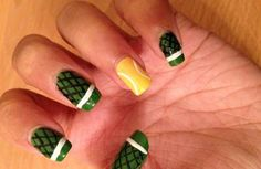 We Love Wipes - US Open Tennis Inspired Nails Tutorial Tennis Crafts, Tennis Pictures, I Believe In Pink, Play Tennis, Beautiful Nail Art, Cool Nail Designs, Nail Tutorials, Holiday Nails, French Fries